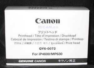 New Canon QY6-0072 Print Head