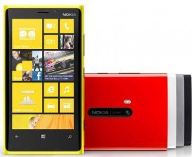 Nokia 920 Lumia  WP8 32GB Smartphone-----Black,Yellow,White,Red