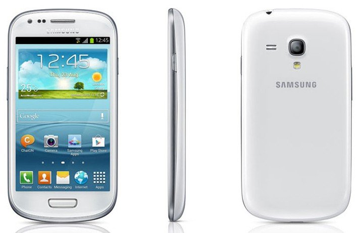 Samsung unlocked Galaxy S III Mini i8190 Smartphone-----Blue,White