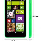 "Unlocked Nokia Lumia630 8GB 4.5"" Dual-SIM Smartphone----black, white, yellow, green, orange"