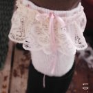 Lace Trimmed Cute Leg Warmers*Upcycled Sweater*Secret Pocket*Gift Idea