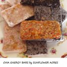 Healthy Chia Energy Bars Recipes-Gluten Free*2 Variations*Free Bonus!