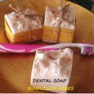 Dental Soap-Salt Bar Soap Fragrance Free*Pink Himilayan Salt Topping