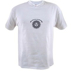 Women's Law of Attraction Sun Design Tshirt