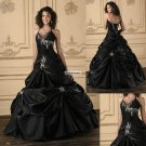 Halter  Embroidered  Prom  Gown