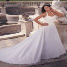 Halter  Lace  long tail  wedding  dress