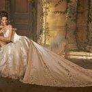 Royal  Long Tail- wedding  dress