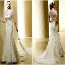 MerMaid  short  -tail  wedding  dress