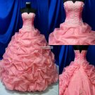 Sleeveless  Princess  Prom  Gown