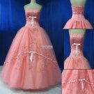 Beading  Sleeveless  Party   dress