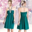 Haute Halter A-line cocktail dress