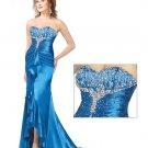 Elegant  stain  evening  dress