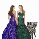 A-Line  Elegant  Prom  dress