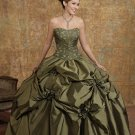 Embroidered Quinceneara  Prom  Gown