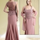 Sleeveless Mother Of Bride Gown