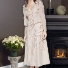 Attractively Embellished Tea length Gown