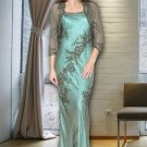 Floor length Mother Of Bride Gown