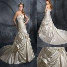 GORGEOUS    beaded  wedding  dress