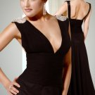 Deep V Neckline Thanksgiving evening Dress