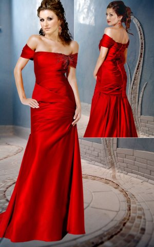 Fabulous Off-shoulder Floor Length evening  dress