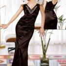 Elegant Floor Length  evening dress