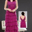 Splendid Multi-tiered  evening  dress