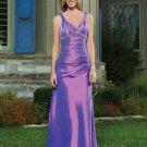 Beautiful  A-line  evening  dress