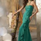 Classic  A-line  simple  evening dress
