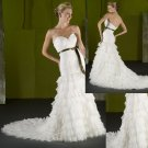 2011 Sweatheart Ruching Mermaid wedding dress