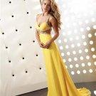 Stunning  Beaded  Halter  evening dress