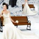 2011  Newest   sweatheart  Wedding gown