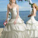 2011  Princess   Beaded  Appliqued Bridal  gown