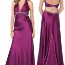 Empire A-line evening gown