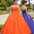 Formal  Elegant  Beaded  Party  Prom dress