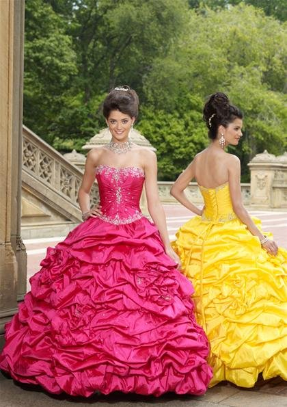 Stunning  Ball  Gown Beaded  prom dress