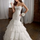 2011  Lastest  Tower  Sweatheart  Lace wedding  gown