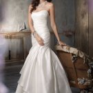Cheap   ruching  A-line  wedding  dress