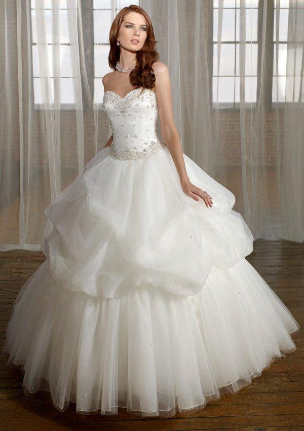 Designer  Princess Sweatheart  Beaded  wedding dress