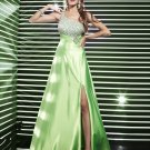 2012 One  shoulder Beaded  Prom dress