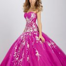 2012 Popular ball gown sweetheart-neck quinceanera dresses