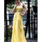 Silk-like Strapless Beading Floor-length Prom / Evening Dress