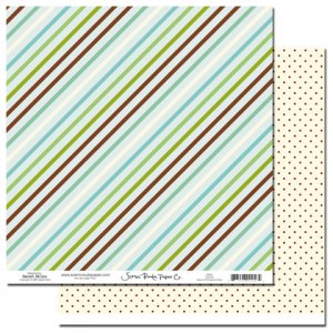 Charlotte Beacon Hill Diagonal Stripe
