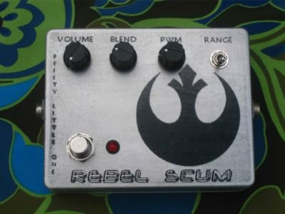 Feisty Little One Rebel Scum Gated Fuzz Pedal FREE USA SHIPPING!