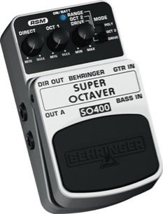 Behringer SO400 Super Octaver Effects Pedal