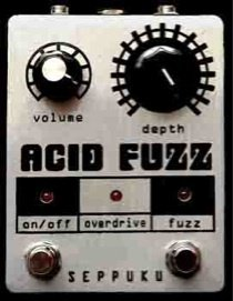 Seppuku FX Acid Fuzz Pedal FREE USA SHIPPING!