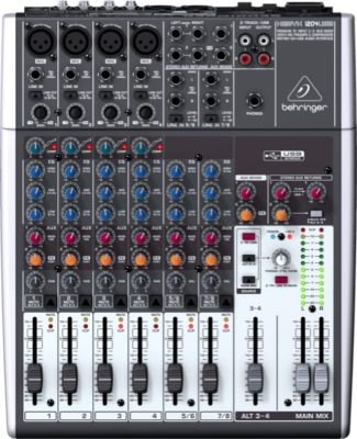 Behringer XENYX 1204USB Premium 12-Input 2/2-Bus Mixer with USB/Audio Interface
