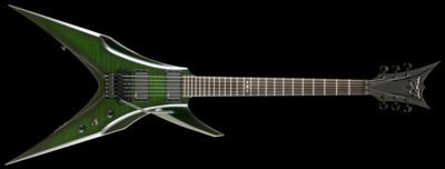 DBZBird Of Prey 2011 Flame Maple Trans Green with Hardshell Case FREE USA SHIP!