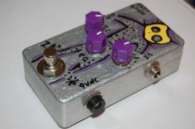Zebranalogic Fuzz Silicon Fuzz Pedal
