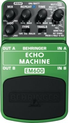 Behringer EM600 Echo Machine Ultimate Echo Effect Pedal