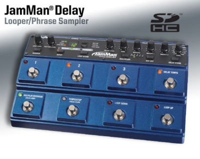 DigiTech JamMan Delay Stereo Looper Sampler Pedal FREE USA SHIPPING!